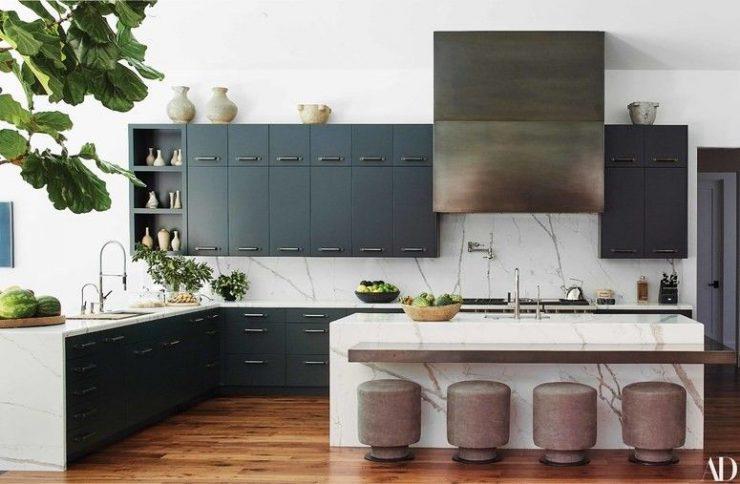 kris jenner kitchen renovation for architectural digest