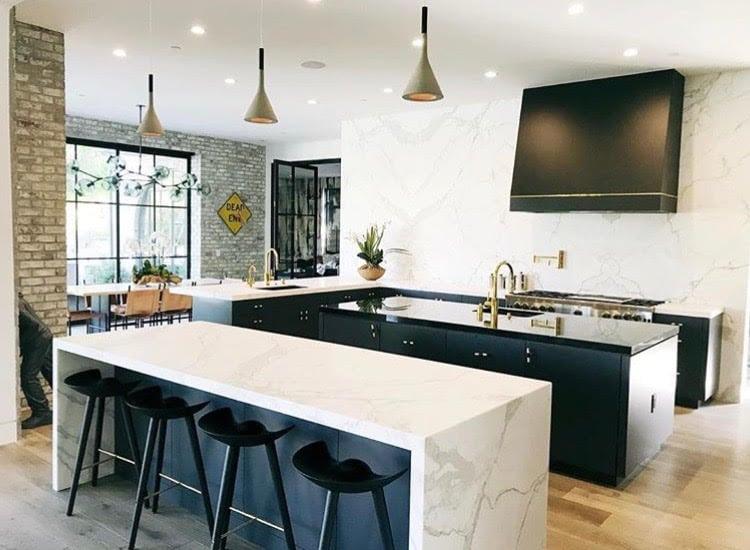 Marble Kitchen Gina Holtz Designer